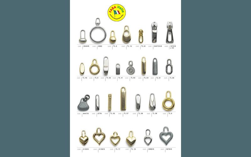 vendita cursori lampo