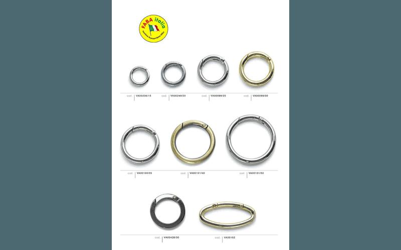 anelli per valigeria