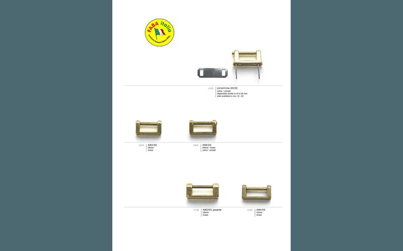accessori metallici pelletteria