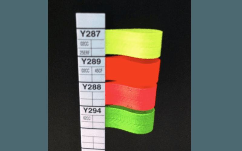 lampo in nylon colori fluo