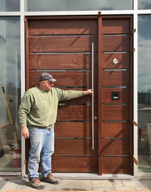 Custom Wood Door Gallery Front Entry Interior And