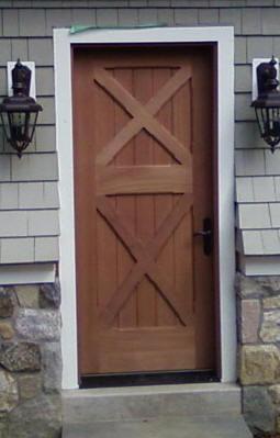 Custom wood door gallery front entry interior and for 9 lite crossbuck exterior door
