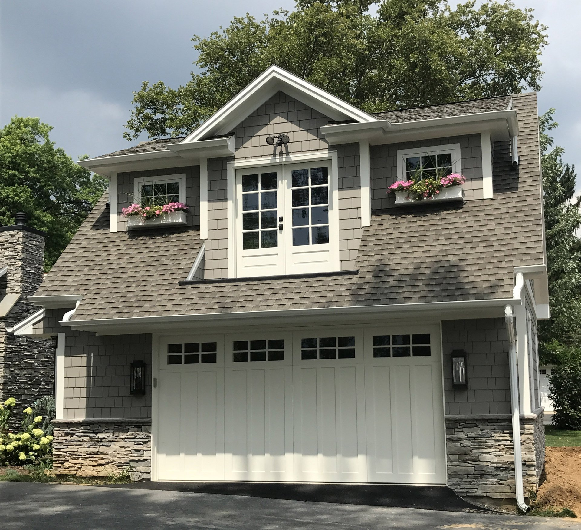 style carriage cottage garage door size for shed doors