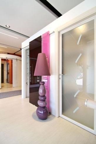 Portes intérieures en verre dépoli