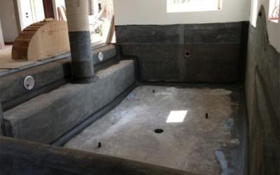 costruzione vasca