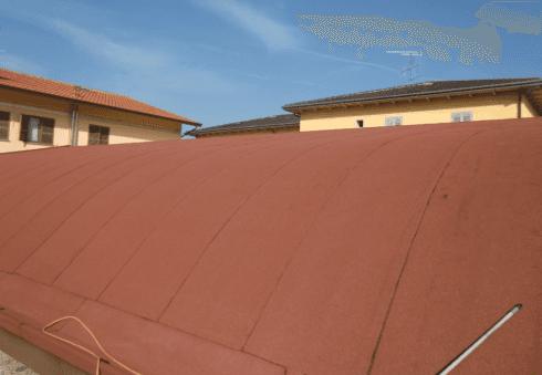 isolamento tegole e tetto