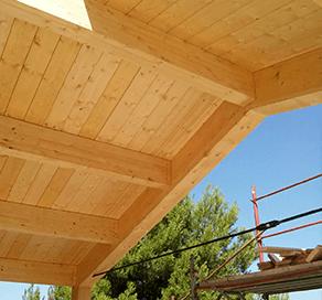 coperture il legno