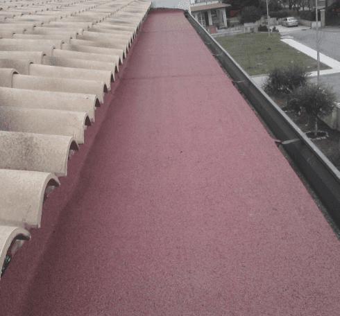 Impermeabilizzazione tetto grondaia