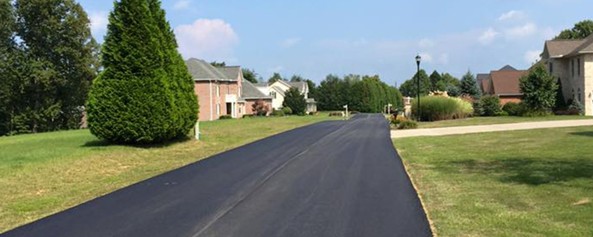 View of well paved road by experts in Virginia