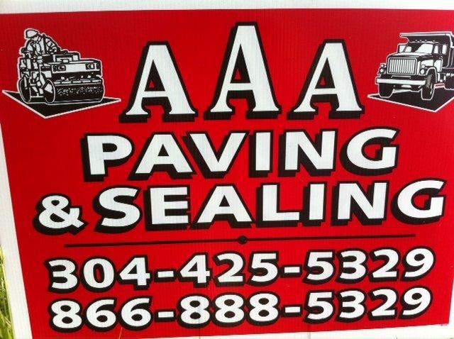 AAA paving & sealing logo