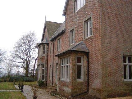 Red bricks home
