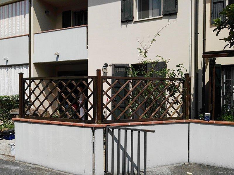 Pergolati in legno a Ravenna