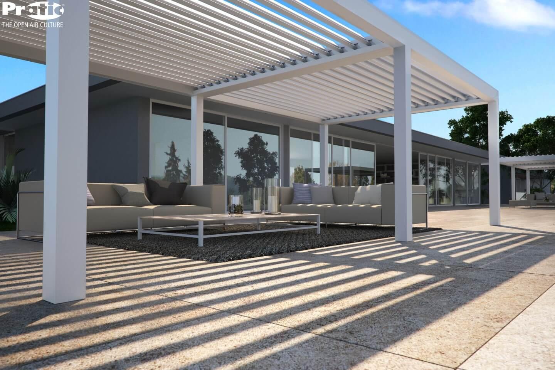 struttura per veranda esterna a ravenna