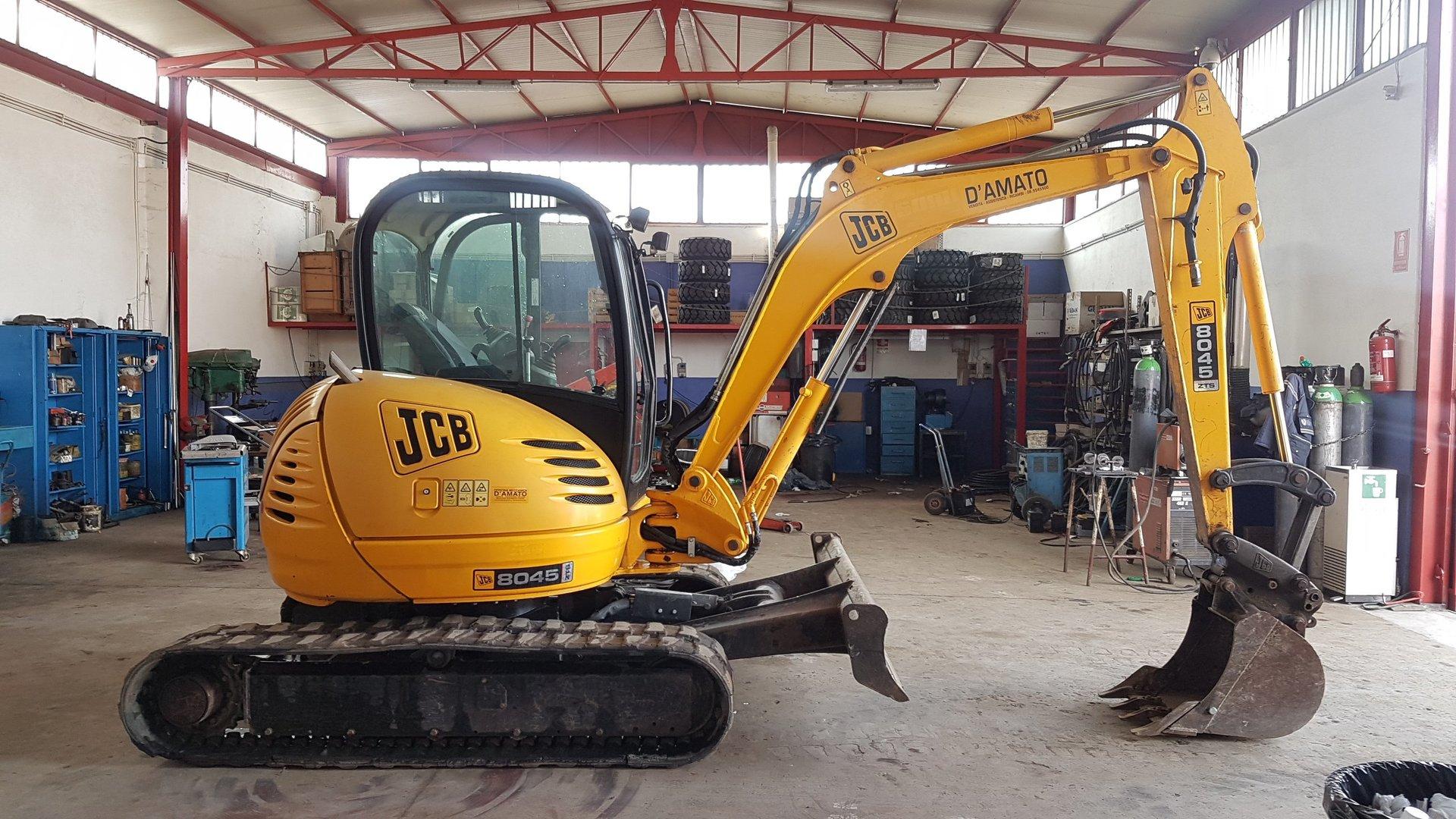 Mini escavatore jcb 8045