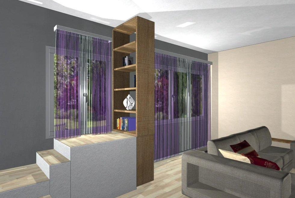 Progettazione arredamento in 3d bologna zinani c for Progettazione mobili 3d