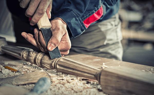 Lavorazione del legno a Napoli