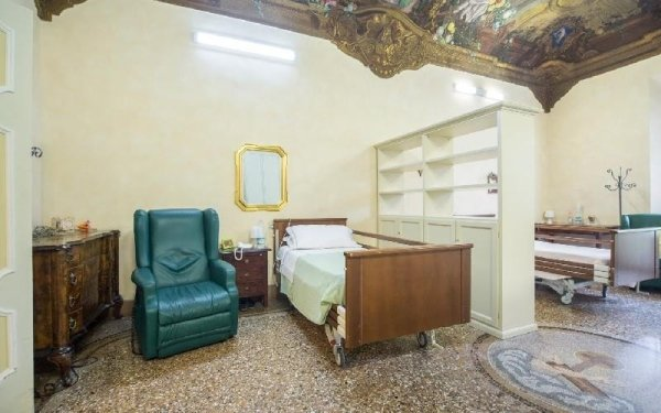 Camere attrezzate Casa di riposo Francescana