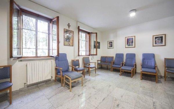 Sala ritrovo Casa di riposo Francescana