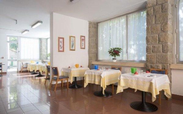 Salone cena Casa di riposo Francescana