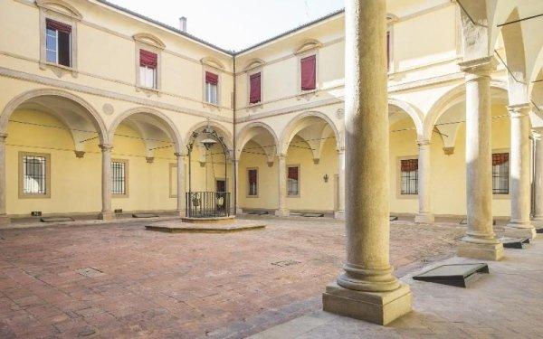 Chiostro comune Casa di riposo Francescana