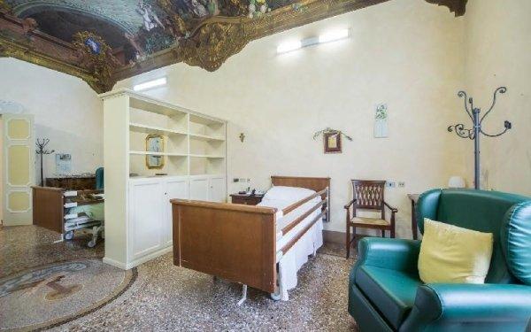 Camere singole Casa di riposo Francescana