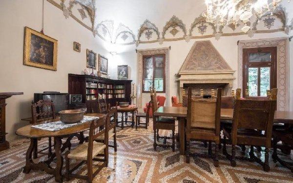 Salone struttura Casa di riposo Francescana