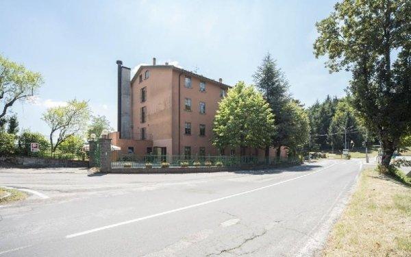 Piazzale struttura Casa di riposo Francescana