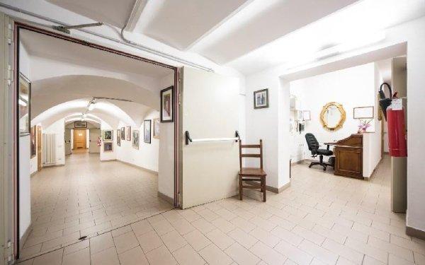 Atrio interno Casa di riposo Francescana