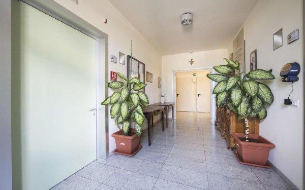 Corridoio struttura Casa di riposo Francescana