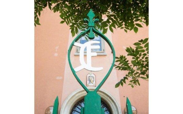 Insegna struttura Casa di riposo Francescana