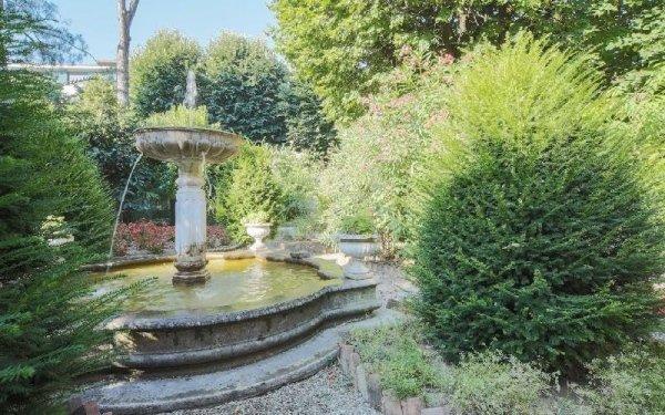 Fontane del giardino Casa di riposo Francescana