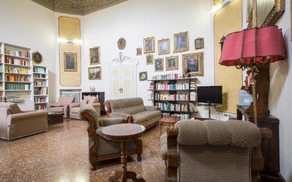 Salone interno Casa di riposo Francescana