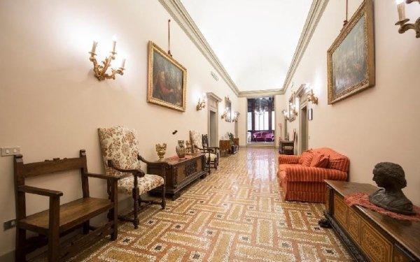Salone ospiti Casa di riposo Francescana