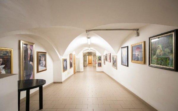 Corridoio interno Casa di riposo Francescana