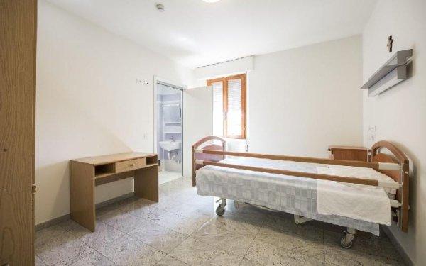 Camera attrezzata Casa di riposo Francescana