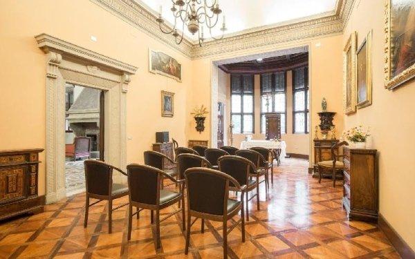 Sala comune Casa di riposo Francescana