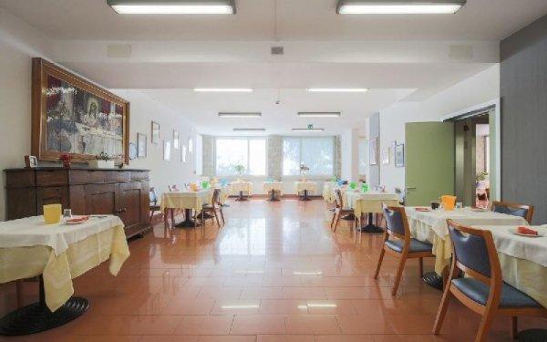 Sala da pranzo Casa di riposo Francescana