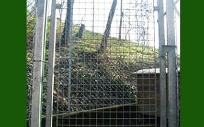 recinzioni metalliche per biomasse