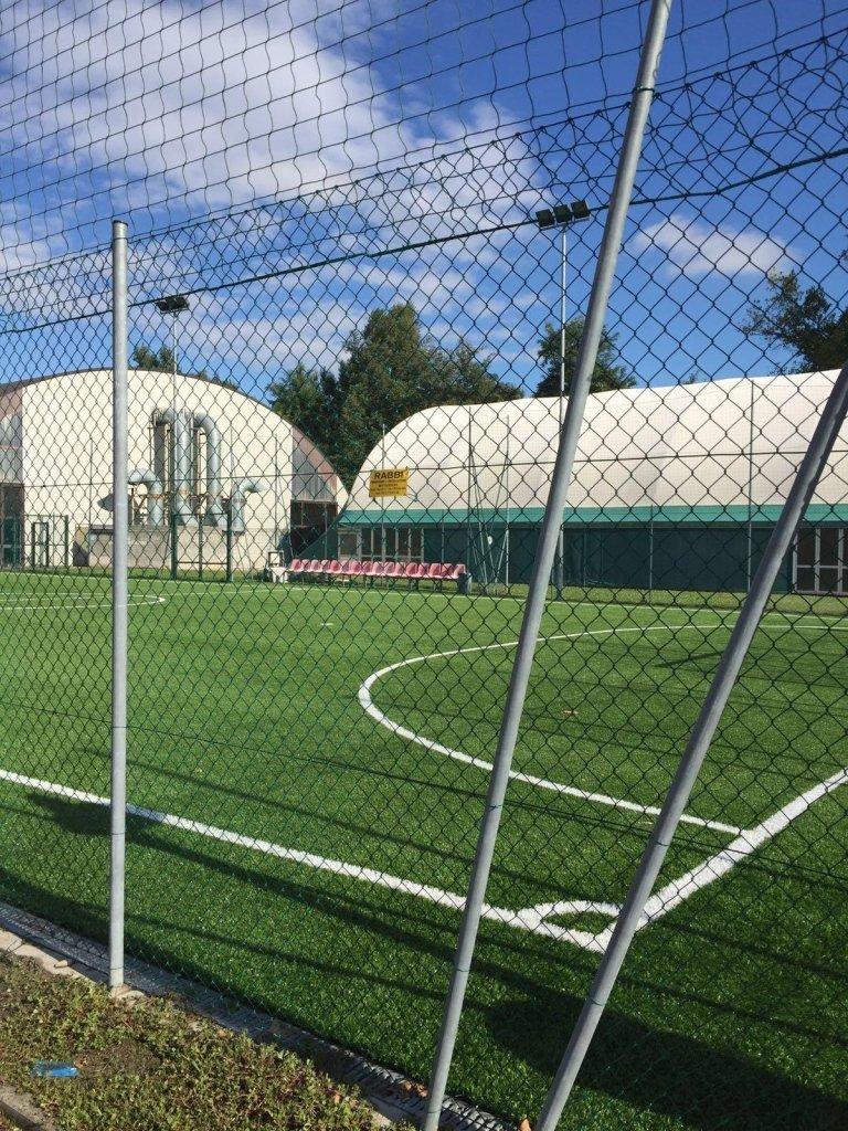 recinzione campo da calcio