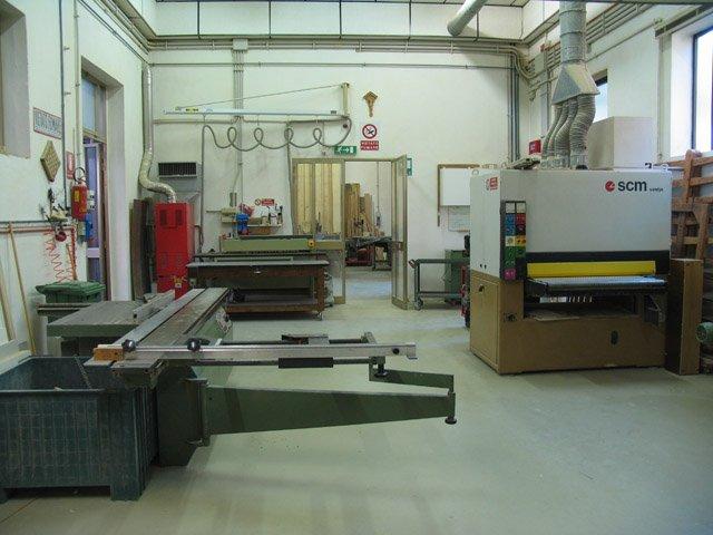 Macchinari in un laboratorio