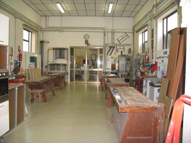 Banconi di un laboratorio
