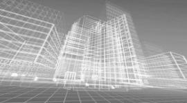 progetto in 3d, palazzo in 3d, palazzo virtuale
