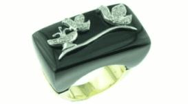 gioielli vendita, commercio anelli, brillantini