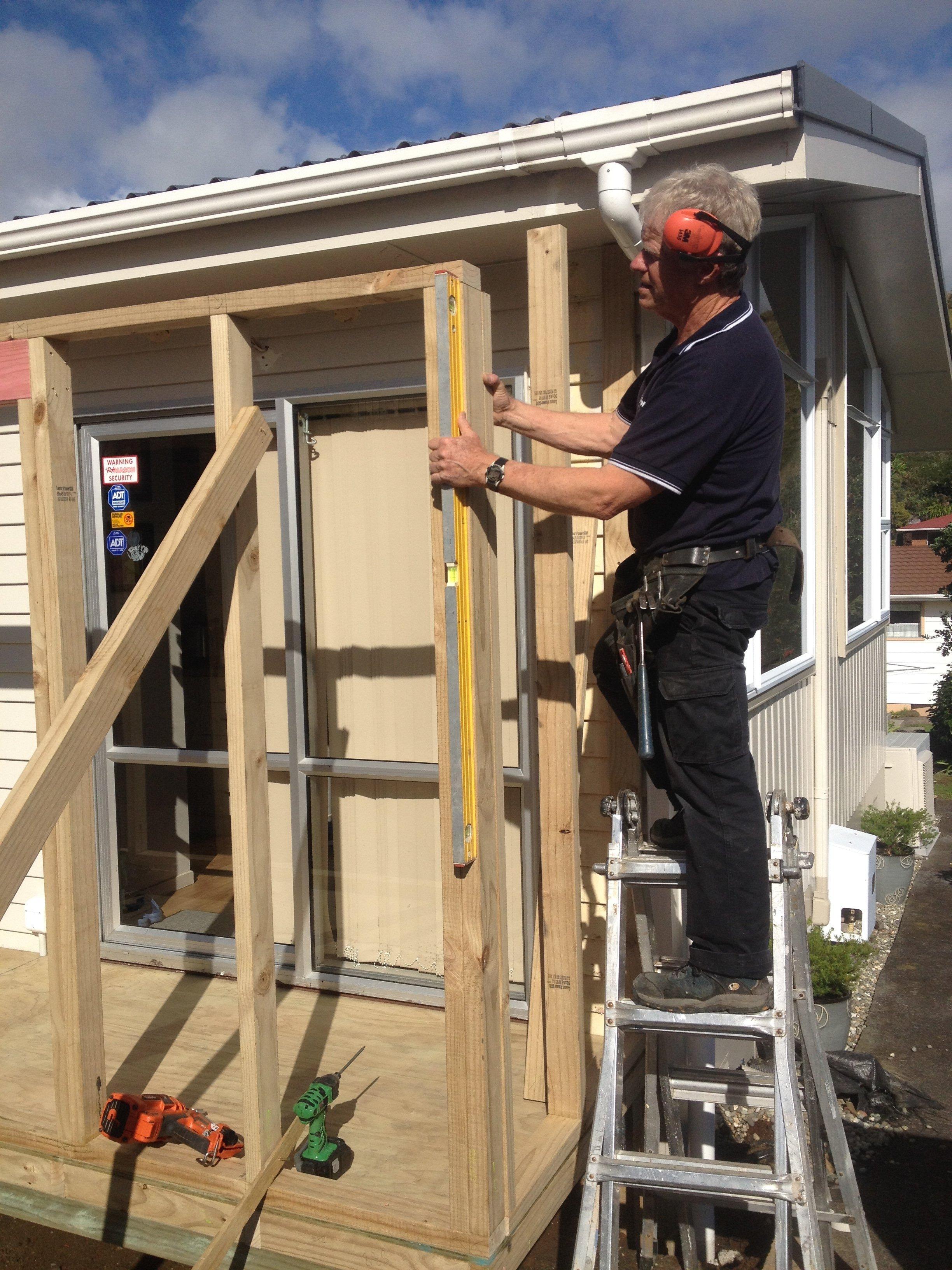 Professional handyman providing plumbing services in Waitara