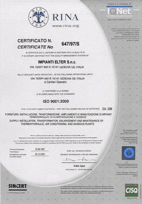 impianti elettrici certificati, impianti civili certificati, impianti termoidraulici certificati