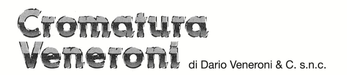 CROMATURA VENERONI di VENERONI DARIO & C. snc-LOGO