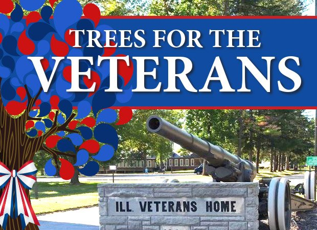 Trees for Tomorrow Veterans Home Campaign