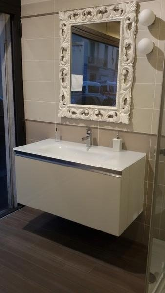 Mobile bagno con specchio Dama - Synergie