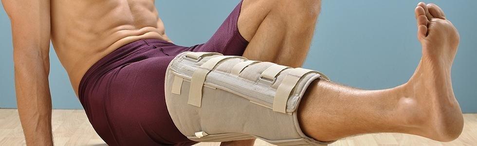 ginocchiera ortopedica