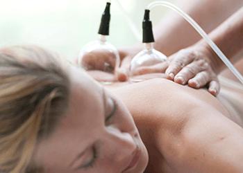 Massaggio con campane di vetro
